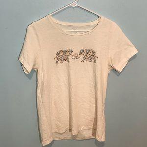J. Crew Tops - (4/$15) jCrew Collector elephant graphic Tee
